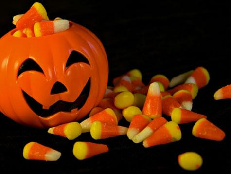 Halloween Pumpkin and Candy   Selective Dentistry - George Saliba, DDS