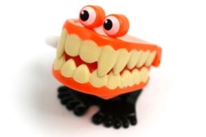 walking teeth